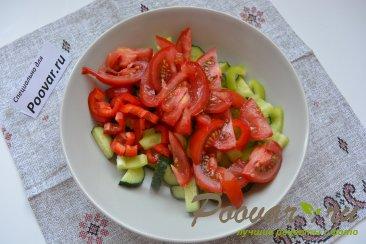 Овощной салат с кускусом Шаг 5 (картинка)