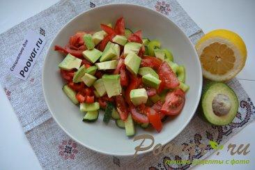 Овощной салат с кускусом Шаг 6 (картинка)