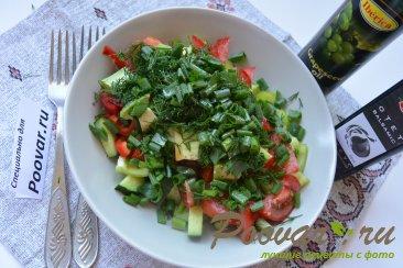 Овощной салат с кускусом Шаг 8 (картинка)