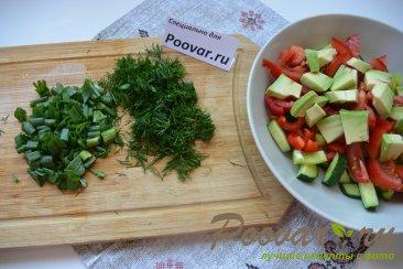 Овощной салат с кускусом Шаг 7 (картинка)