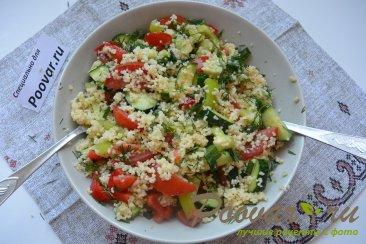 Овощной салат с кускусом Шаг 11 (картинка)
