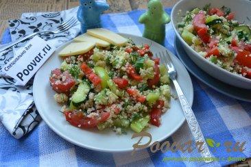 Овощной салат с кускусом Шаг 13 (картинка)
