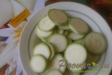 Закуска из кабачков и помидоров Шаг 2 (картинка)