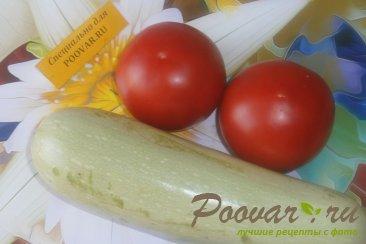 Закуска из кабачков и помидоров Шаг 1 (картинка)