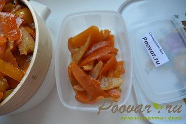 Цукаты из грейпфрутовых, апельсиновых и лимонной корки Шаг 8 (картинка)