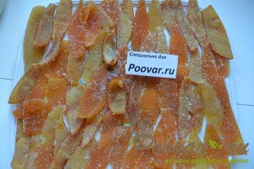Цукаты из грейпфрутовых, апельсиновых и лимонной корки Шаг 9 (картинка)