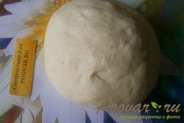 Слойки с капустой, луком и фаршем Шаг 10 (картинка)