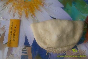 Слойки с капустой, луком и фаршем Шаг 15 (картинка)
