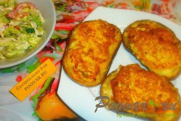 Луковые гренки с сыром Шаг 12 (картинка)