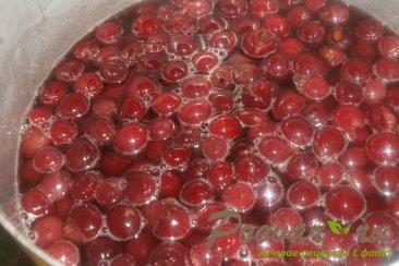 Варенье из черешни с ванилью Шаг 5 (картинка)
