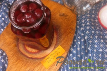 Варенье из черешни с ванилью Шаг 12 (картинка)