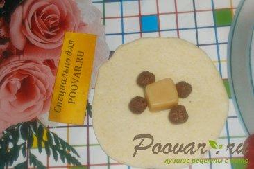 Булочки с конфетами и зерновыми шариками Шаг 6 (картинка)