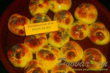 Булочки с конфетами и зерновыми шариками Шаг 9 (картинка)
