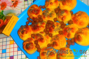 Булочки с конфетами и зерновыми шариками Шаг 10 (картинка)
