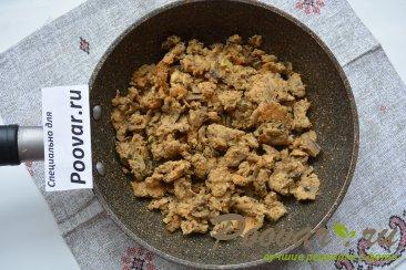 Лепёшки с мясом и грибами Шаг 6 (картинка)