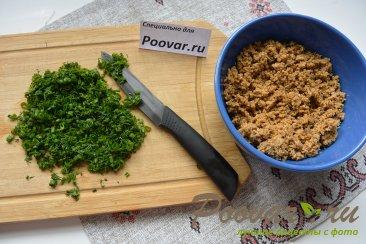 Лепёшки с мясом и грибами Шаг 8 (картинка)