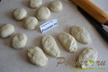 Лепёшки с мясом и грибами Шаг 10 (картинка)