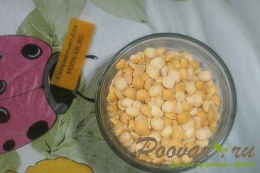 Суп гороховый с сухариками со вкусом васаби Шаг 1 (картинка)