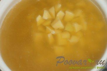 Суп гороховый с сухариками со вкусом васаби Шаг 7 (картинка)