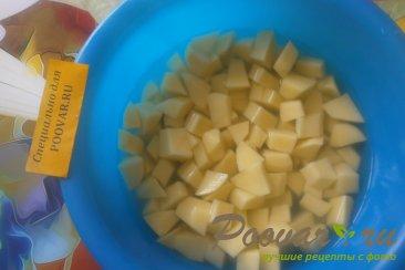 Суп гороховый с сухариками со вкусом васаби Шаг 4 (картинка)