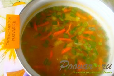 Суп гороховый с сухариками со вкусом васаби Шаг 12 (картинка)