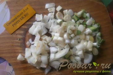 Суп гороховый с сухариками со вкусом васаби Шаг 5 (картинка)