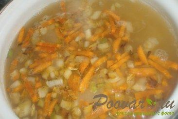Суп гороховый с сухариками со вкусом васаби Шаг 10 (картинка)