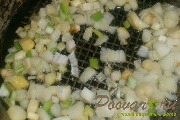 Суп гороховый с сухариками со вкусом васаби Шаг 8 (картинка)