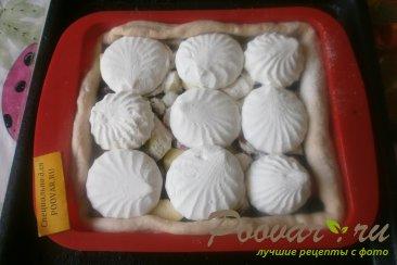 Пирог из дрожжевого теста с ягодами и зефиром Шаг 10 (картинка)
