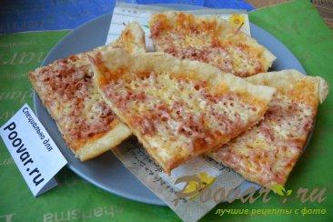 Быстрая пицца на сковороде Изображение