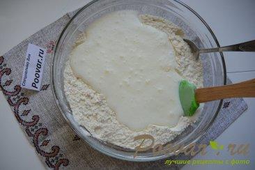 Быстрая пицца на сковороде Шаг 2 (картинка)