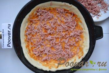 Быстрая пицца на сковороде Шаг 10 (картинка)