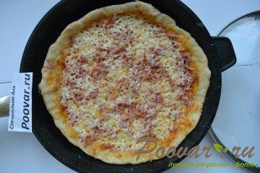 Быстрая пицца на сковороде Шаг 12 (картинка)