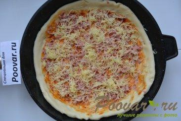Быстрая пицца на сковороде Шаг 11 (картинка)