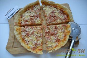 Быстрая пицца на сковороде Шаг 13 (картинка)