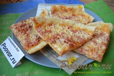 Быстрая пицца на сковороде Шаг 14 (картинка)