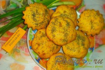 Кексы с луком и сыром Изображение