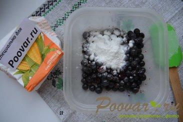 Пирог с чёрной смородиной и ежевикой Шаг 12 (картинка)