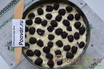 Пирог с чёрной смородиной и ежевикой Шаг 16 (картинка)