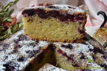 Пирог с чёрной смородиной и ежевикой Шаг 20 (картинка)