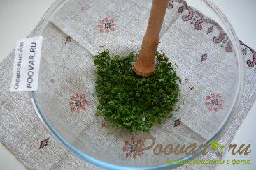 Холодный суп на кефире с огурцами и яйцами (Окрошка) Шаг 1 (картинка)