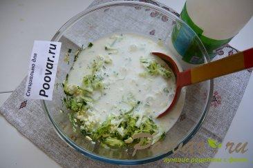 Холодный суп на кефире с огурцами и яйцами (Окрошка) Шаг 5 (картинка)