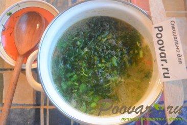 Куриный суп с макаронами и шпинатом Шаг 7 (картинка)