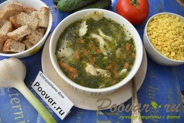 Куриный суп с макаронами и шпинатом Шаг 10 (картинка)