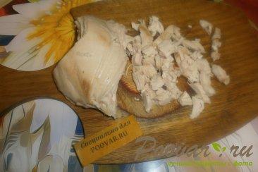 Кабачки с сыром и курицей Шаг 7 (картинка)