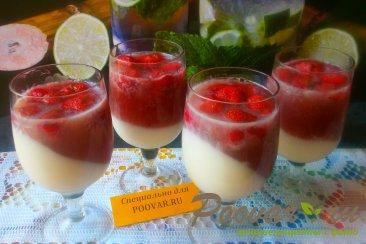 Молочно-клубничное желе Шаг 11 (картинка)