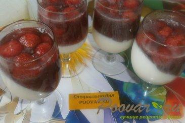 Молочно-клубничное желе Шаг 10 (картинка)