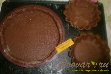 Пирог из шоколадного теста с ягодами Шаг 6 (картинка)