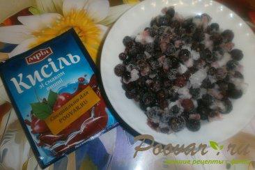 Пирог из шоколадного теста с ягодами Шаг 4 (картинка)