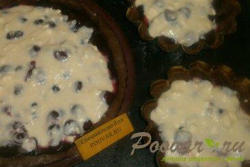 Пирог из шоколадного теста с ягодами Шаг 11 (картинка)